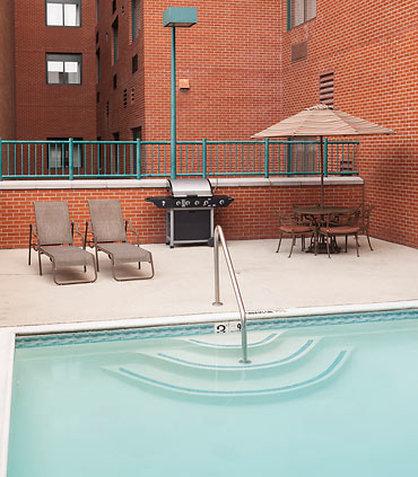 SpringHill Suites Dallas Downtown/West End Kuntokeskus