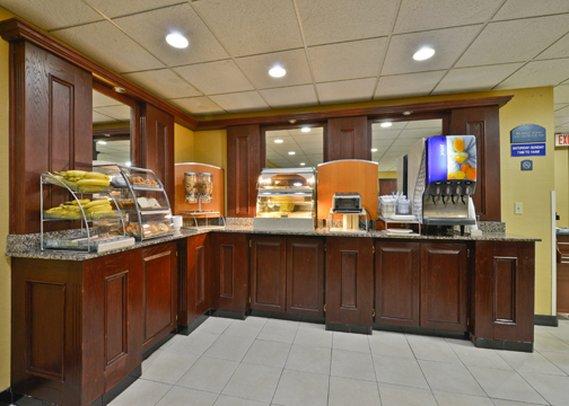 Holiday Inn Express LOS ANGELES-UNIV CTY-CAHUENGA Restauration