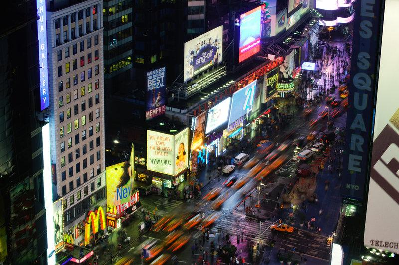 Crowne Plaza Hotel Times Square Manhattan Widok z zewnątrz