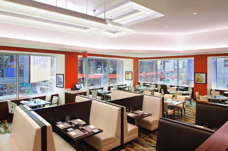 Crowne Plaza Hotel Times Square Manhattan Gastronomia
