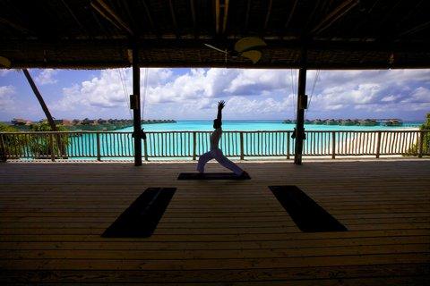 Six Senses Laamu - Yoga At Six Senses Spa