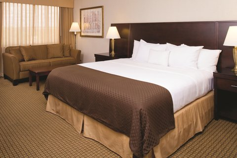 Doubletree Hotel Cleveland South - King Bed Guest Room