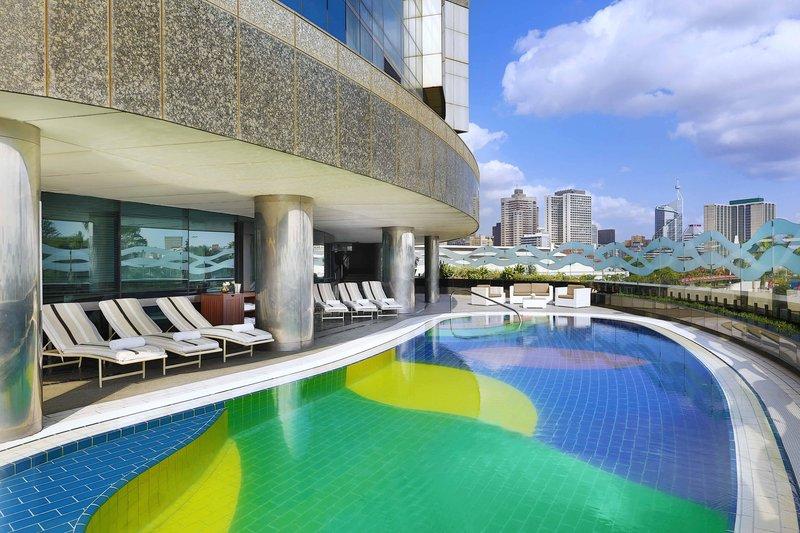 Hilton Durban hotel Widok basenu