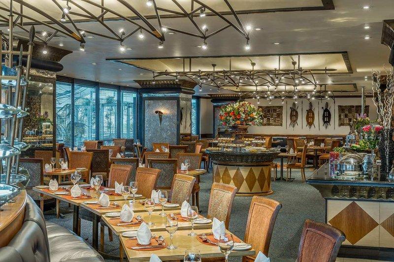 Hilton Durban hotel Gastronomia