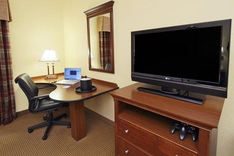 Hampton Inn Hagerstown - Maugansville - Desk and TV
