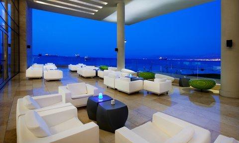Kempinski Hotel Aqaba - Aqua Lounge Terrace
