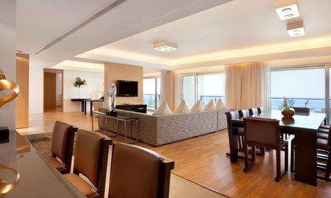 Kempinski Hotel Aqaba - The Royal Suite Sitting Dining Area