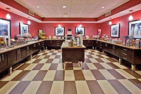 Hampton Inn Niagara Falls - Breakfast Serving Area