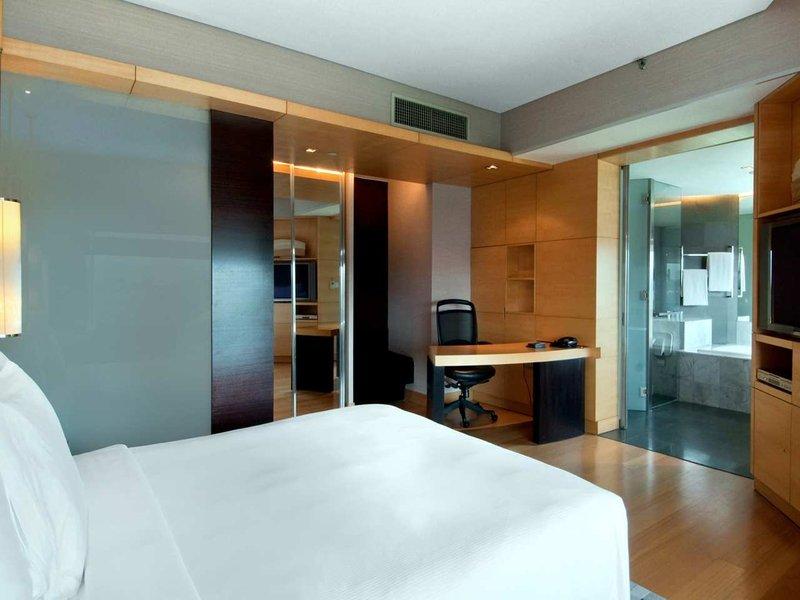 Hilton Kuala Lumpur Vista della camera