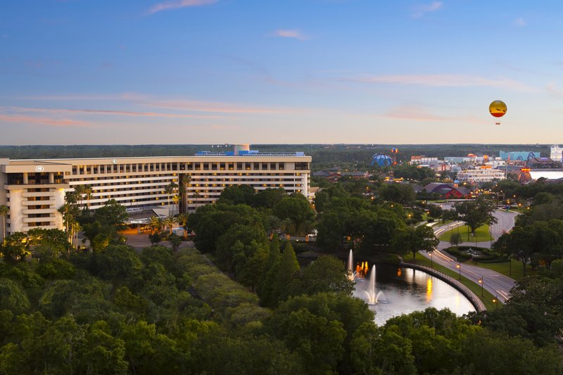 Hilton, located in the WALT DISNEY WORLD Resort Pohled zvenku