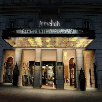Jumeirah Grand Via Veneto Fasad