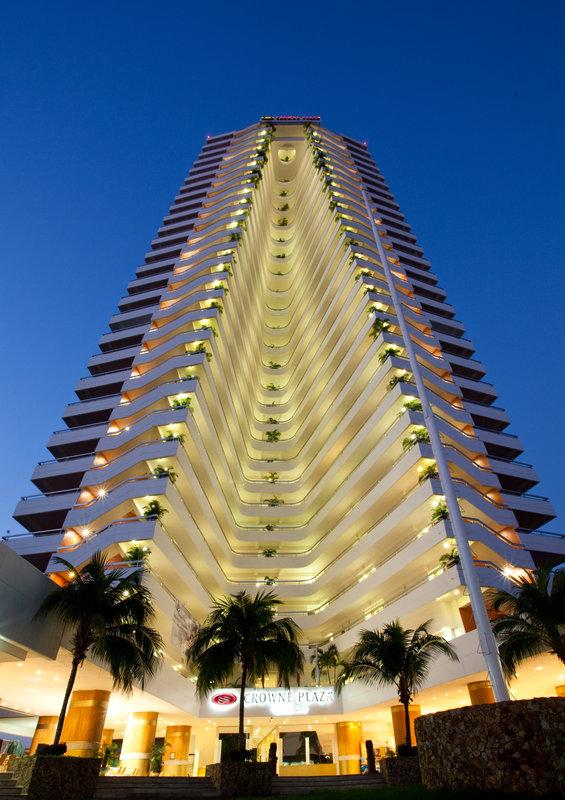 Crowne Plaza Hotel Acapulco Vista exterior