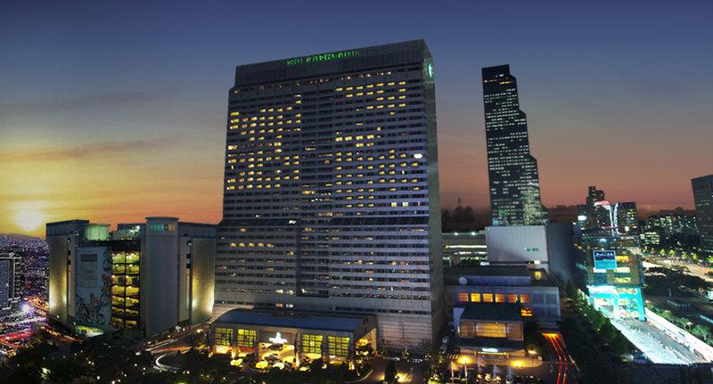Grand InterContinental Seoul Parnas Pohled zvenku