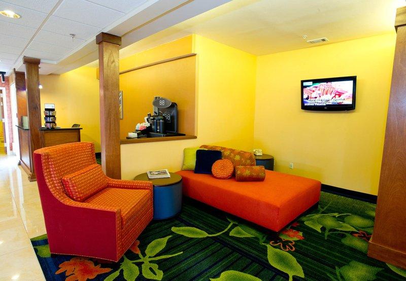 Fairfield Inn by Marriott Irving DFW Airport Előcsarnok
