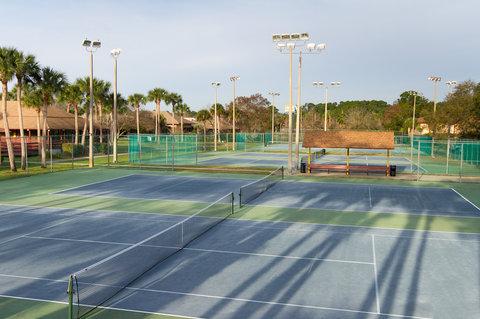 BEST WESTERN PLUS International Speedway Hotel - Tennis Courts