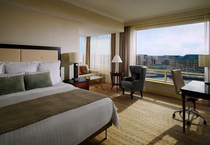 Marriott Copenhagen Вид в номере