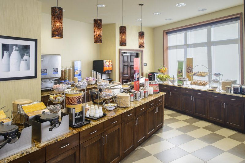 Hampton Inn Washington, DC- Convention Center 餐饮设施