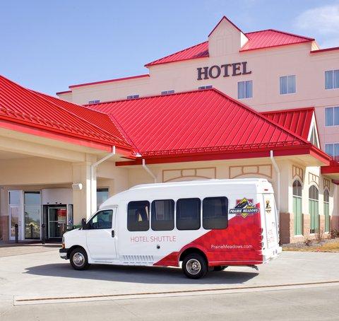 Prairie Meadows Racetrack and Casino - Hotel Shuttle