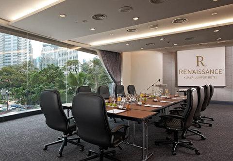 Renaissance Kuala Lumpur Hotel - Grand Harpers Conference Room   Boardroom Setup