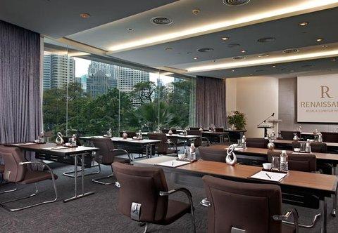 Renaissance Kuala Lumpur Hotel - Grand Harpers   Classroom Setup