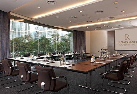 Renaissance Kuala Lumpur Hotel - Grand Harpers   U Shape Setup