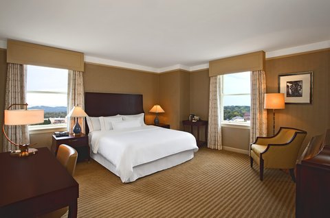 The Westin Poinsett, Greenville - King Guest Room