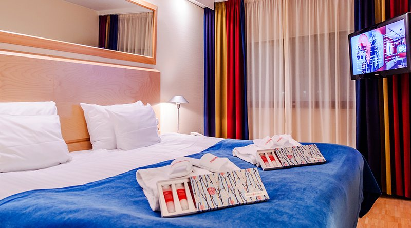 Sokos Hotel Pasila Vista della camera
