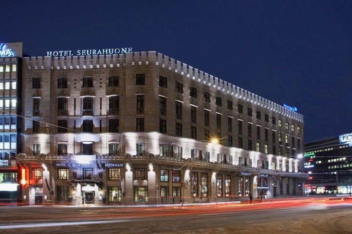 Hotel Seurahuone Helsinki Ulkonäkymä