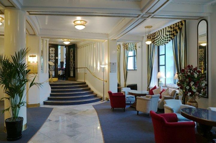 Hotel Seurahuone Helsinki Előcsarnok