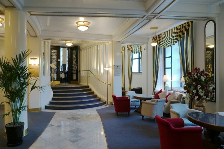 Hotel Seurahuone Helsinki Lobby