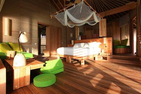 Six Senses Laamu - Ocean Water Villa Interior