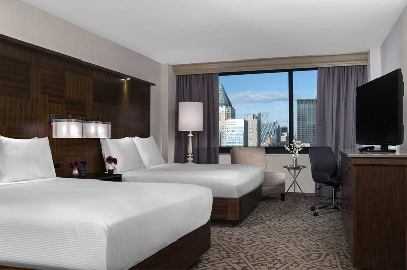 Hilton Times Square View of room