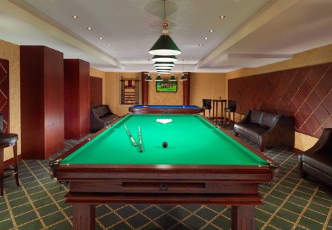 Tsaghkadzor Marriott Hotel - Billiards Room