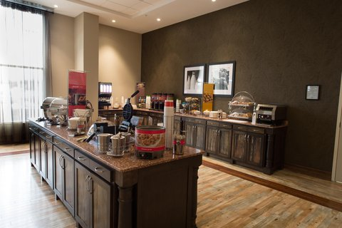 Hampton Inn Sydney Nova Scotia - Breakfast Area