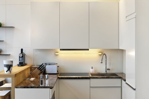 LiViN Wien Parlament - Kitchen at LiV iN Residence by Fleming s