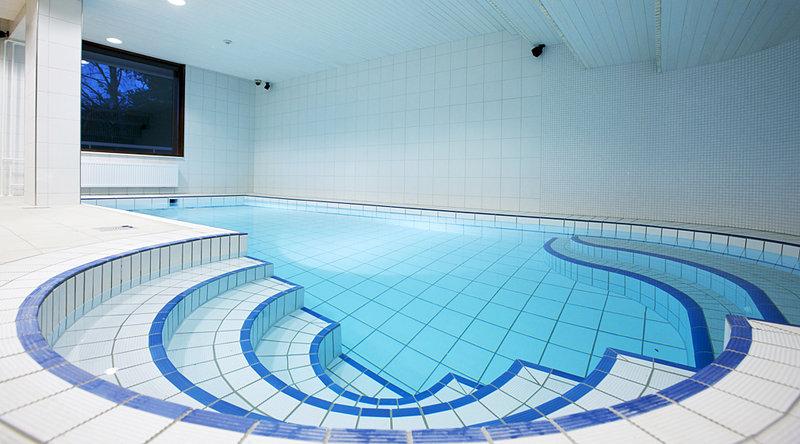 Sokos Hotel Tapiola Garden Kilátás a medencére