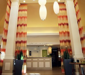 Lobby - Hilton Garden Inn North Charlotte