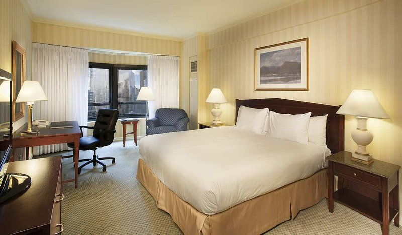 New York Hilton Midtown Vista do quarto