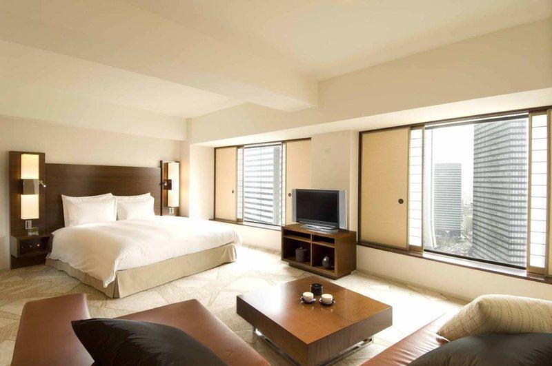 Hilton Tokyo Odanın görünümü