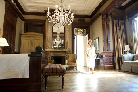 Wentworth Mansion - A glimpse inside the Grand Mansion Suite