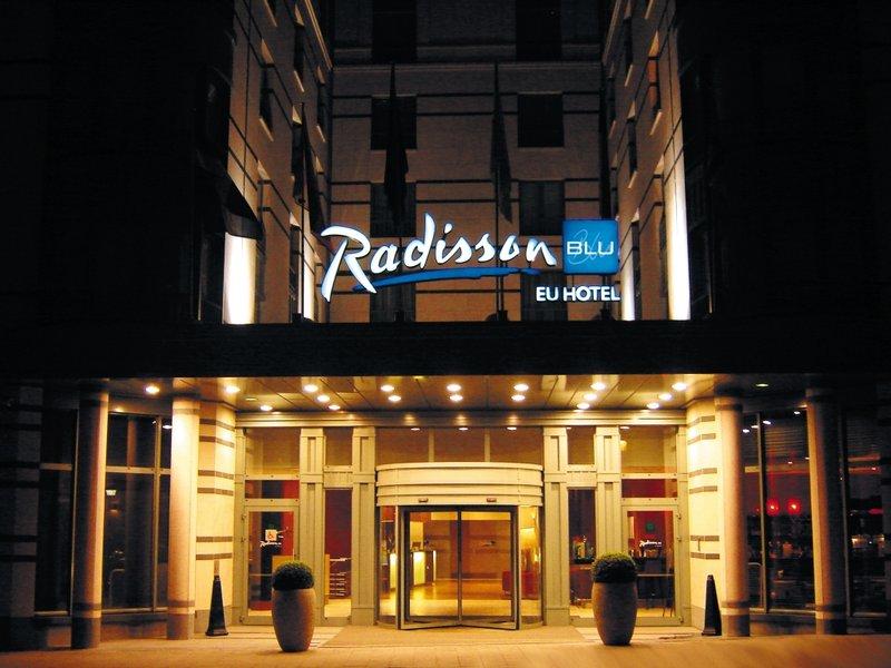 Radisson Blu EU Hotel, Brussels Exterior view