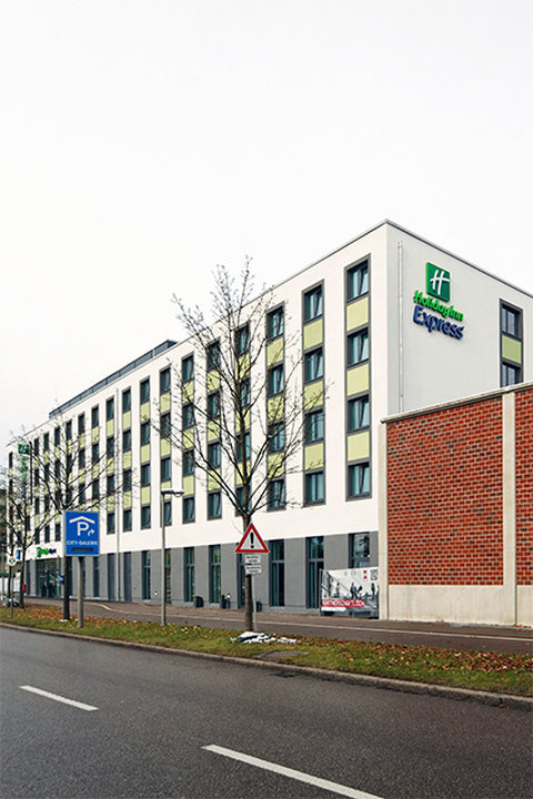 Holiday Inn Express Augsburg Außenansicht