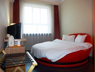 Super 8 Hotel Lanzhou Square Вид в номере