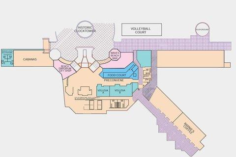 Hilton Daytona BeachResort-Ocean Walk Village - South Tower Lower Level