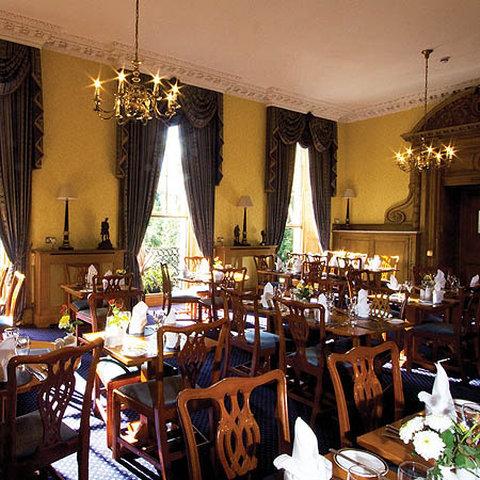 皇家苏格兰俱乐部饭店 - The Royal Scots Club Edinburgh Dinning Room