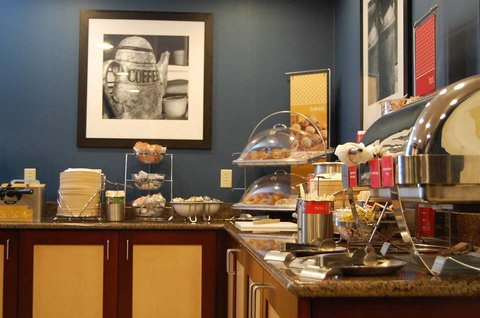 Hampton Inn Batesville IN - Breakfast