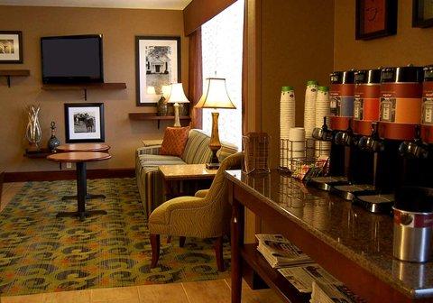 Hampton Inn Batesville IN - Coffee Bar