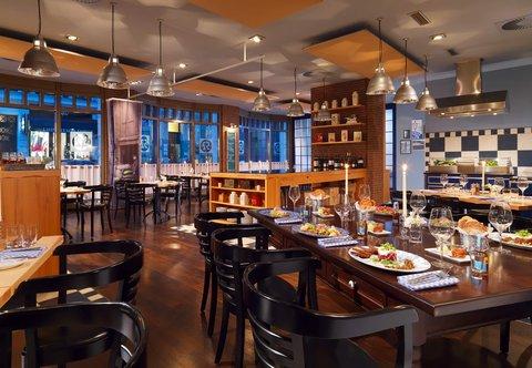 فندق ماريوت هامبورغ - Speicher 52 - Restaurant
