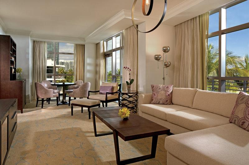 The Ritz-Carlton South Beach スイート