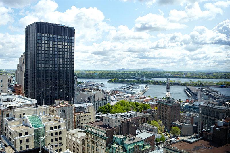 InterContinental Montreal Widok z zewnątrz